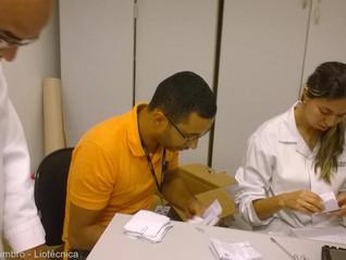 Eleição da CIPA na empresa Liotécnica