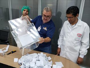 Trabalhadores elegem nova comissão de CIPA na Dr. Oetker