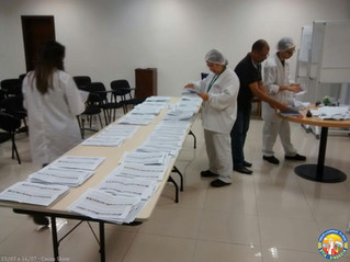 Eleição da CIPA na empresa Cacau Show