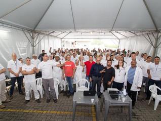SINDICATO PARTICIPA DA SIPAT NA EMPRESA LIOTÉCNICA