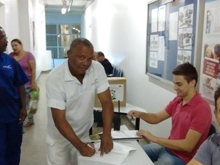 ELEIÇÃO DA CIPA NA EMPRESA M. DIAS BRANCO (ADRIA)