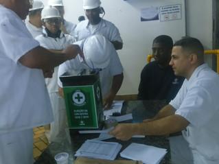 Nova comissão de CIPA é eleita pelos trabalhadores do Marba