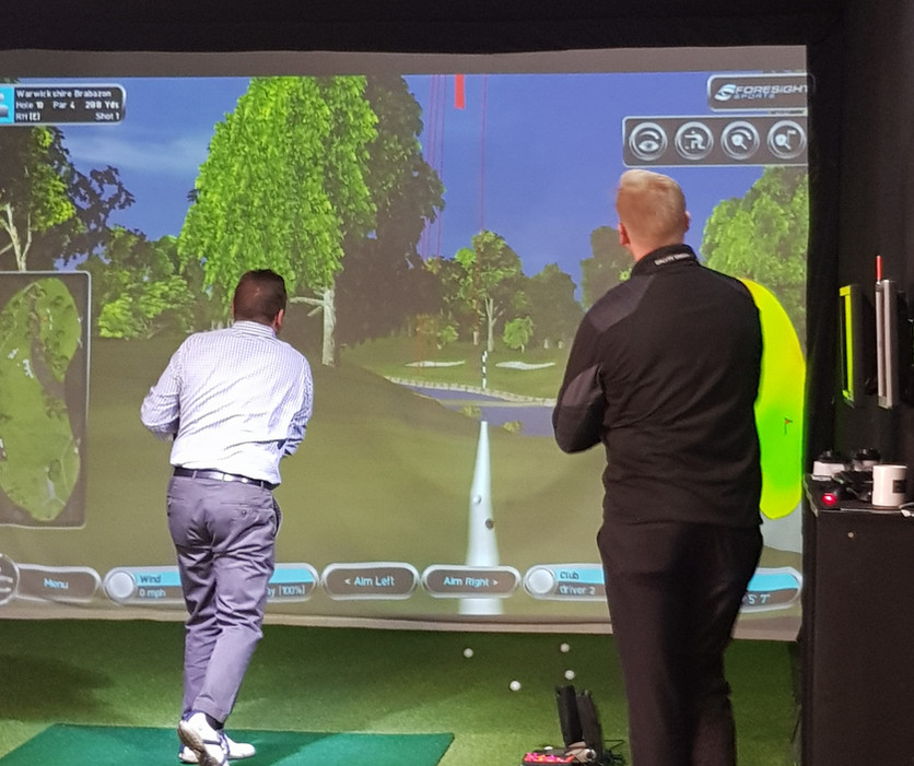 Practice particular types of shot from and yardage