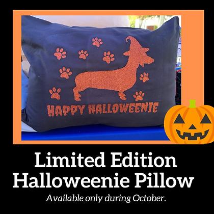 Halloweenie Pillow