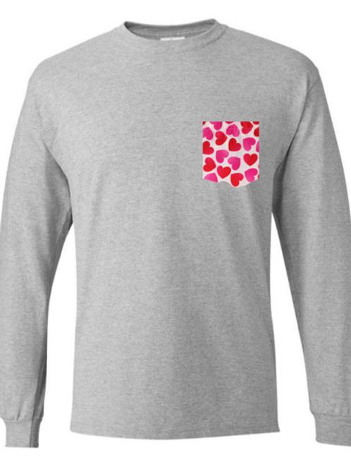 Hearts - long sleeve