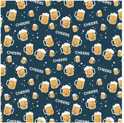 Cheers for Beer - scrunchie