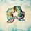 Thumbnail: Spring Stripes - scrunchie
