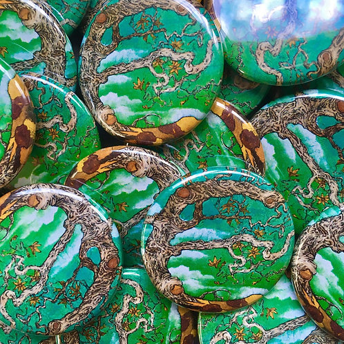 """Meandering Through Existence"" buttons"