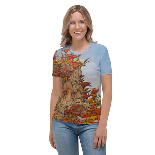'Something Beautiful Near By' Women's Full Coverage Tee