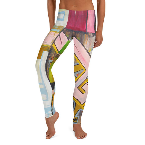 'Greek Key' Leggings