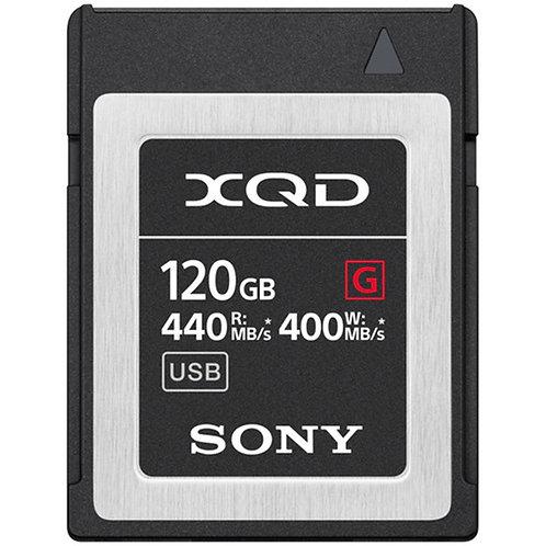 Tarjeta de memoria Sony XQD de 120GB