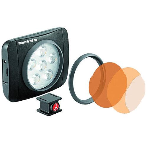 Luz LED en cámara Manfrotto Lumimuse 6 (negro)