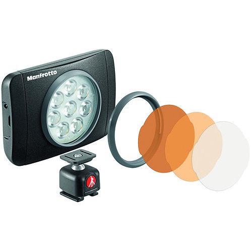 Luz LED en cámara Manfrotto Lumimuse 8 (negro)