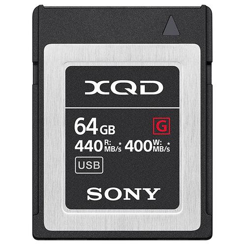 Tarjeta de memoria Sony XQD de 64GB