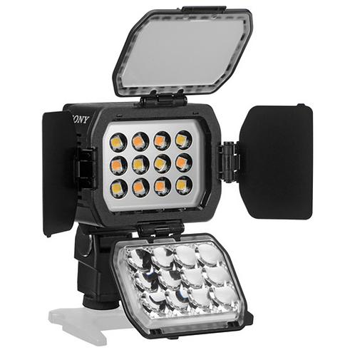 Luz de video LED con batería HVL-LBPC de Sony