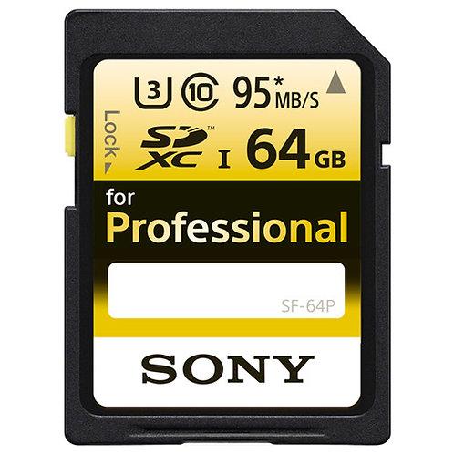 Tarjeta de memoria Sony SD de 64 GB