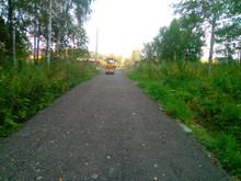 Дорожное покрытие из асфальтовой крошки