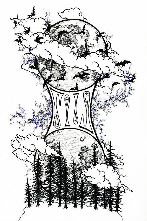 Divided Illustration by Sylvie McClelland
