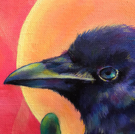 Crow Father (Detail)