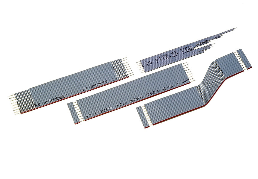 Flat Cable Processing - Tung Hing Electric Wire Company Limited | Double-ends U-cut Double-end stripped