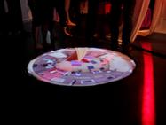 Performance seminar/installation, floor projection