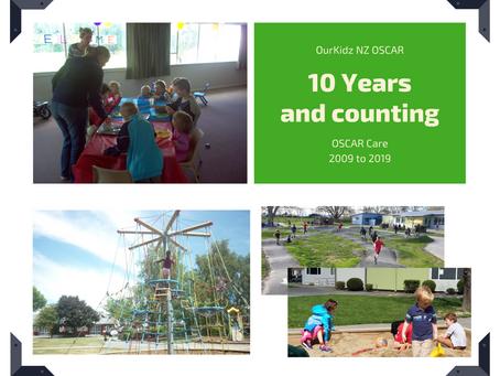 Celebrating 10 years of...