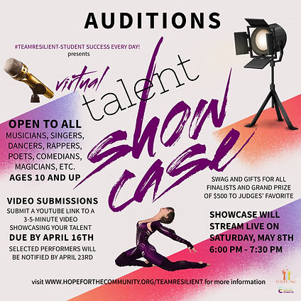 TalentShowcaseAudition - Made with Poste