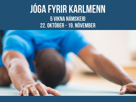 Jóganámskeið fyrir Karlmenn - Framhald