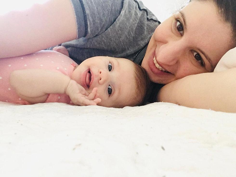 Marta and baby girl