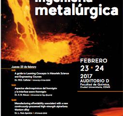 La ASM se presentó en el Simposium de Metalurgia en la UNAM