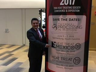 Exposición y Conferencia de Tratamiento Térmico 2018