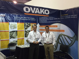Carrasco y Ovako presentes en la Expo FabTech 2016
