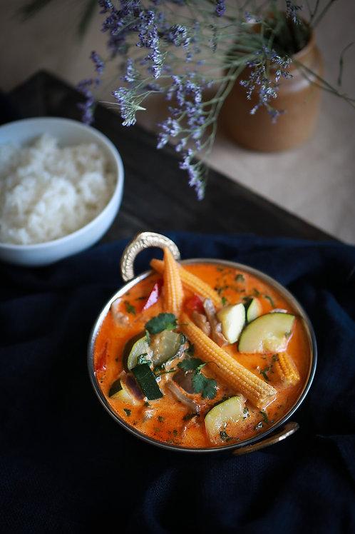 Warzywne Czerwone Curry