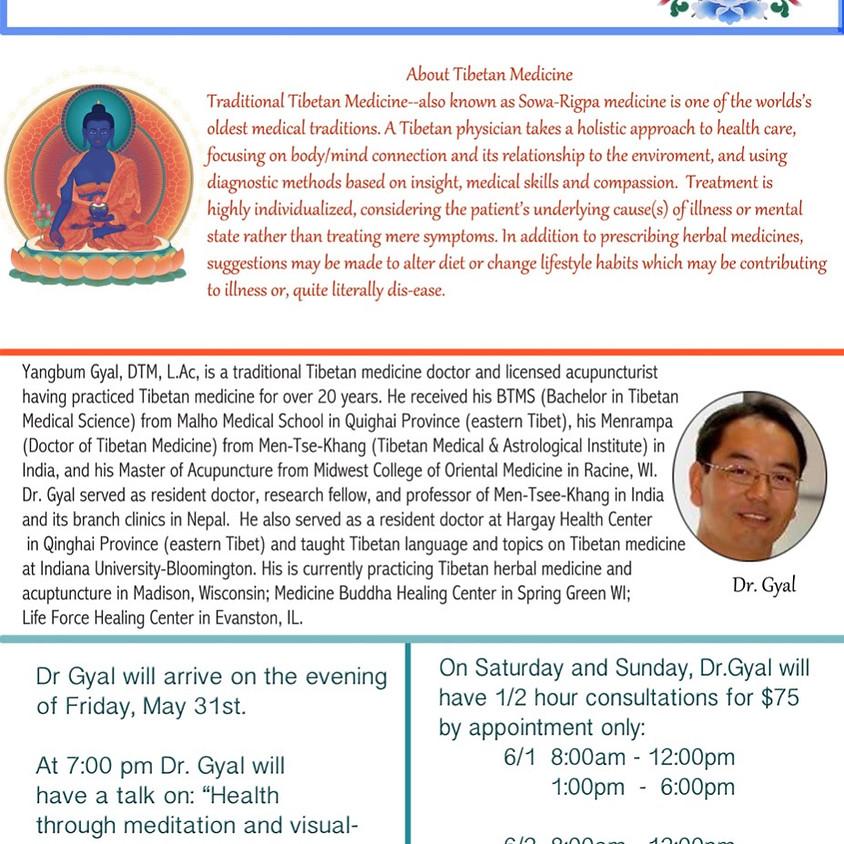 Tibetan Medicine Event