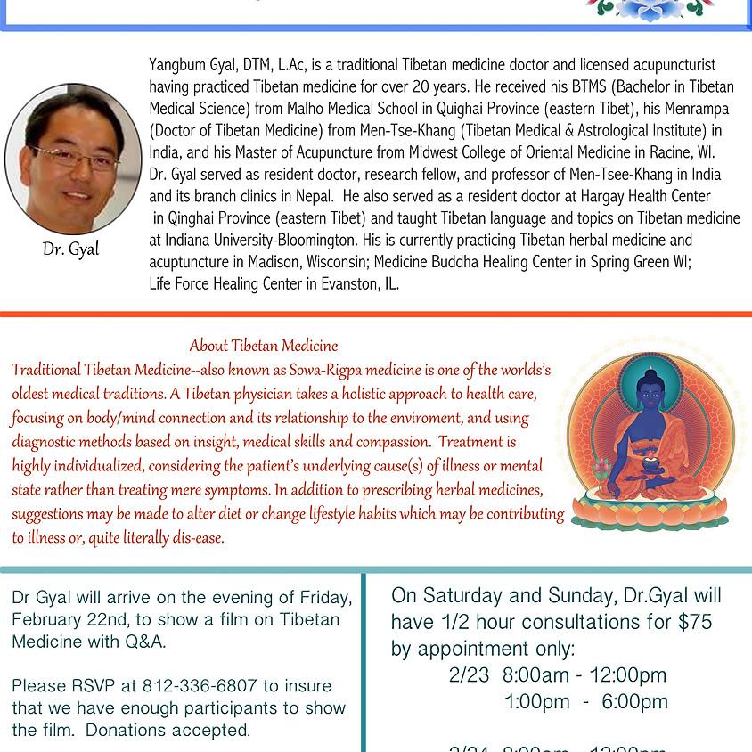 A Tibetan Medicine Event