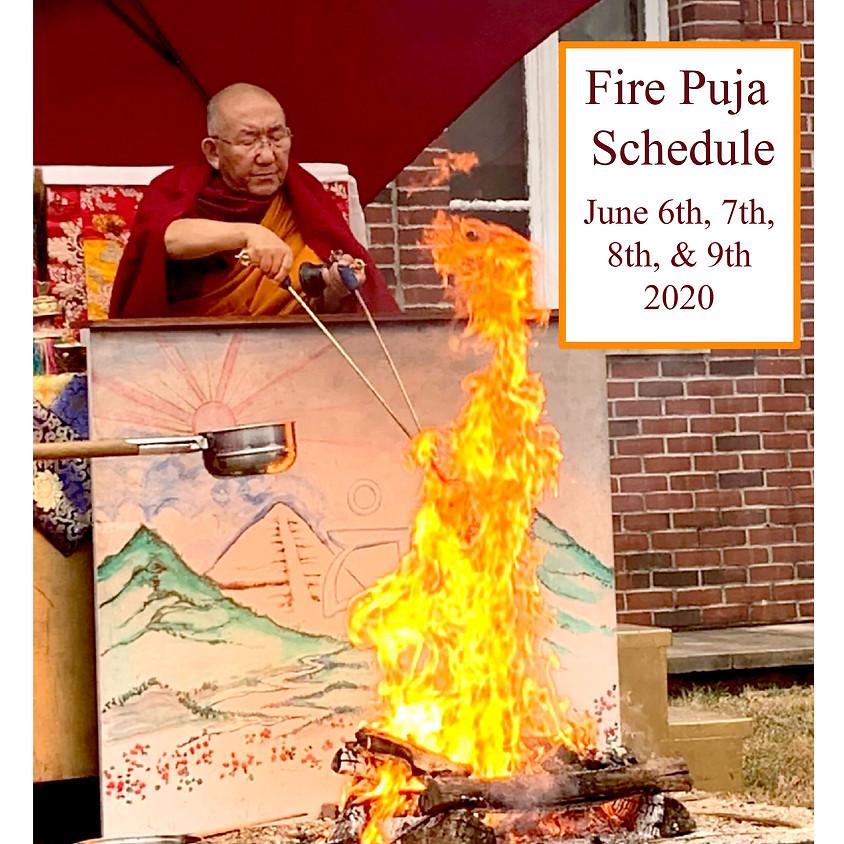 2020 Fire Puja