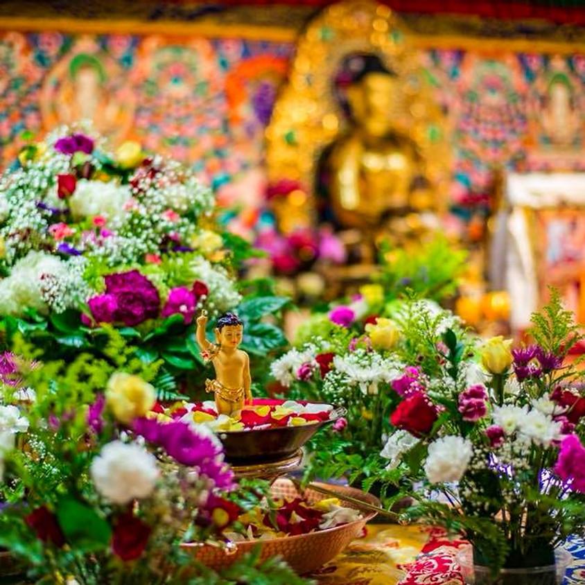 The Bathing Buddha Ceremony