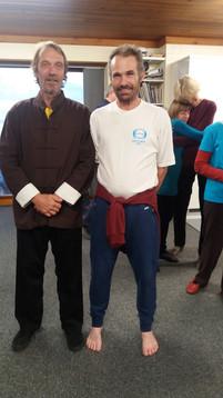 Master Thomas Buchi and Si heng Steve Foy