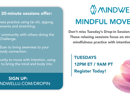 Take a Break From Your Work Day With Mindful Movement