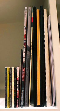 Book Shelf Image of most of the Catalog.