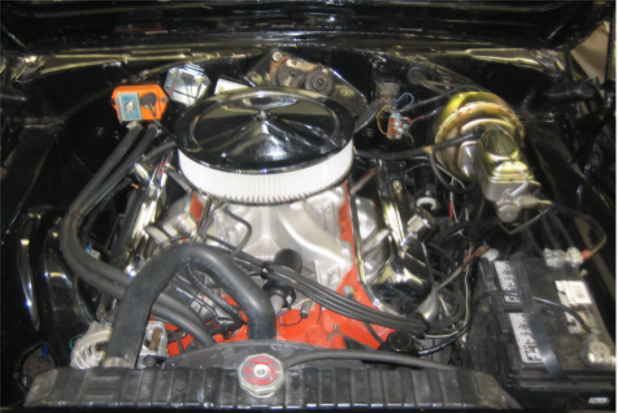 Dodge Charger R:T 1968 engine