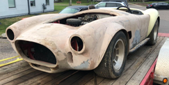 Cobra 1964 (Heading to the shop)