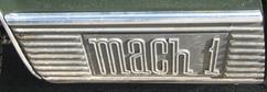 Mustang 1970 detail