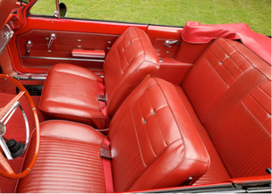 Corvair Monza Spyder Turbo 1963 interior