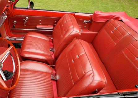 Corvair Monza Spyder Turbo 1963 interior