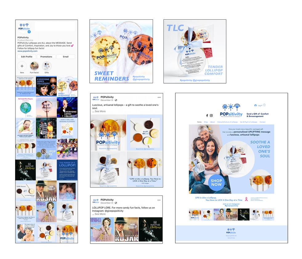 WEBSITE DESIGN + INSTAGRAM POSTS + FACEBOOK ADS