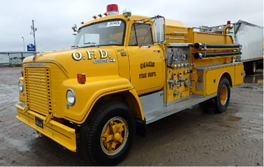International Fire Truck 1970
