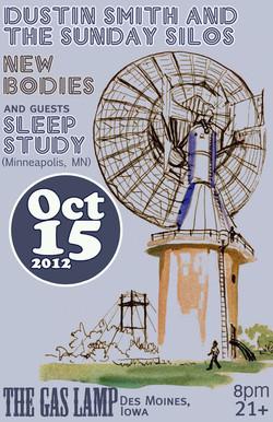Photo Asset Sleep Study Gas Lamp Poster.