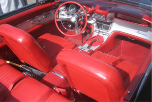 Ford Thunderbird Sports Roadster 1962 int
