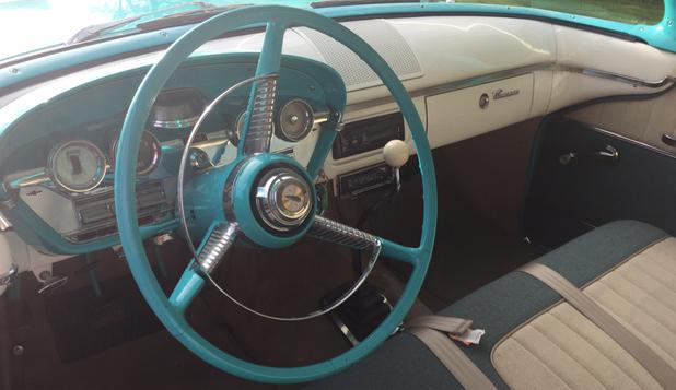 Edsel 1958 interior